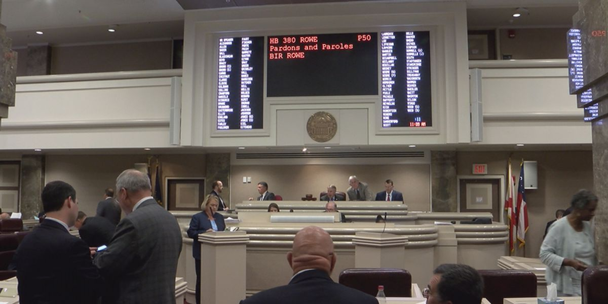 Bill to restructure AL parole board clears House after long debate