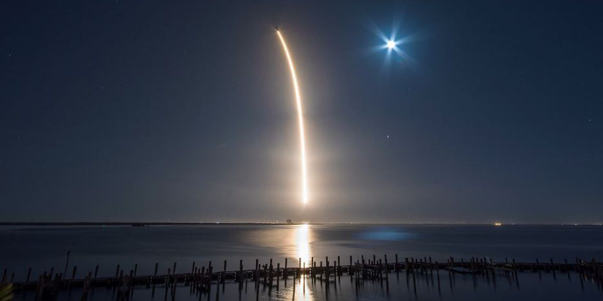 SpaceX launches new communications satellite
