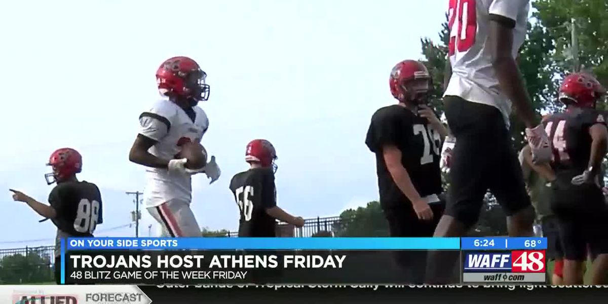 Big ten Conference football, Trojans host Athens on Friday