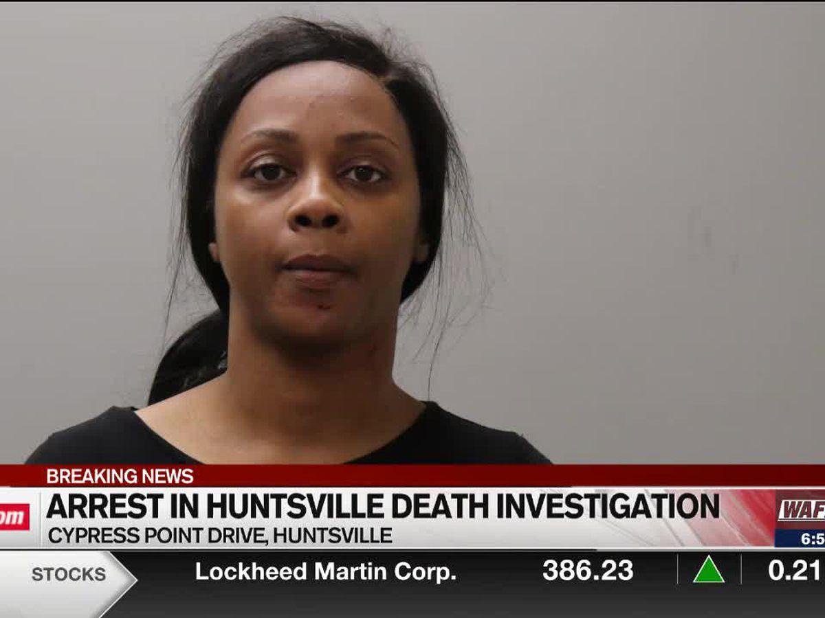 Police arrest Huntsville woman for murder after Saturday death investigation