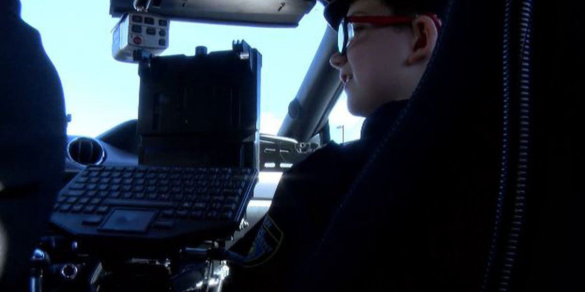Huntsville boy battling Stickler Syndrome gets to be police officer for a day