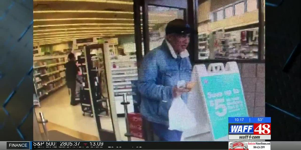 CRIME STOPPERS: Suspect swipes wallet from Huntsville Aldi and goes on shopping spree
