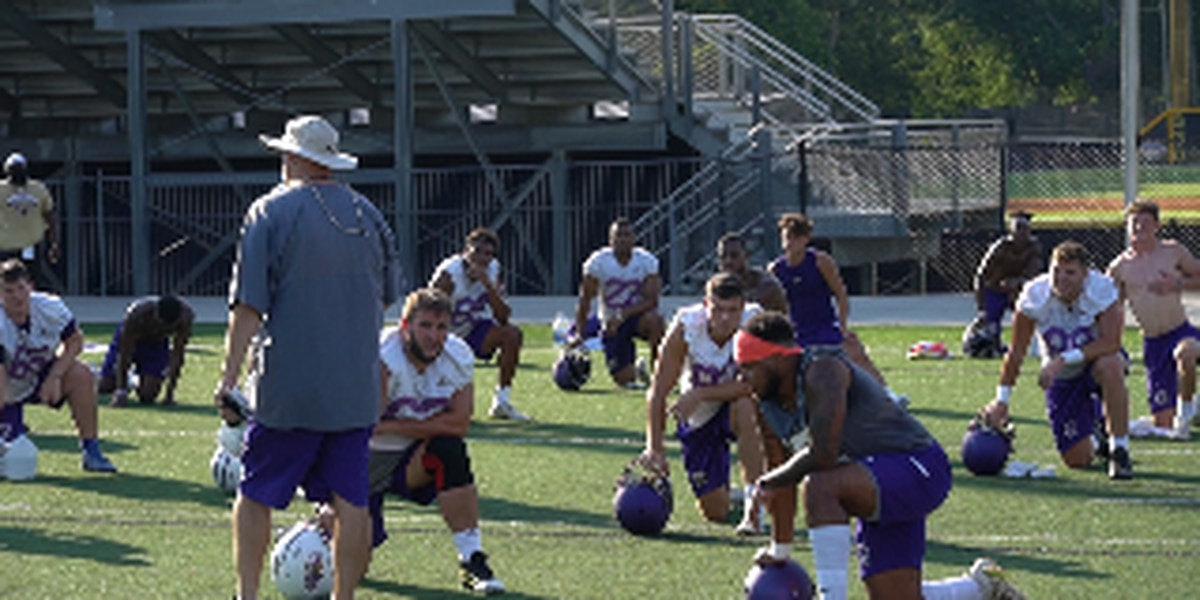 UNA Makes Changes to Fall Practice Schedule