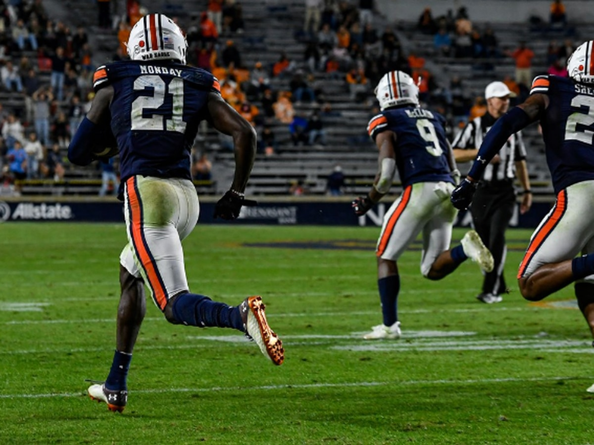 No. 23 Auburn comes out with win against Tennessee