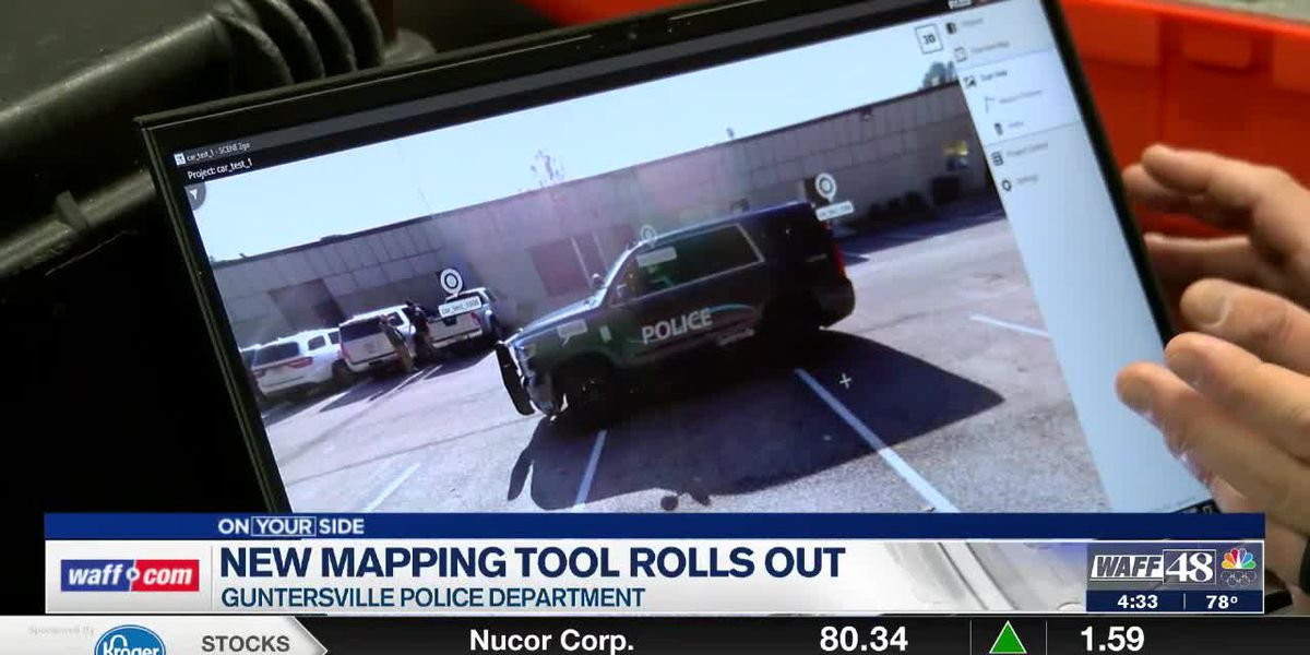 Guntersville Police Department will use new mapping tool