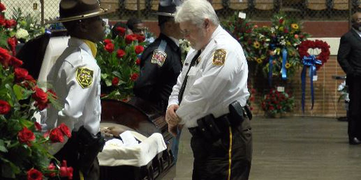 Law enforcement members across the U.S. come to Sheriff 'Big John' Williams' funeral
