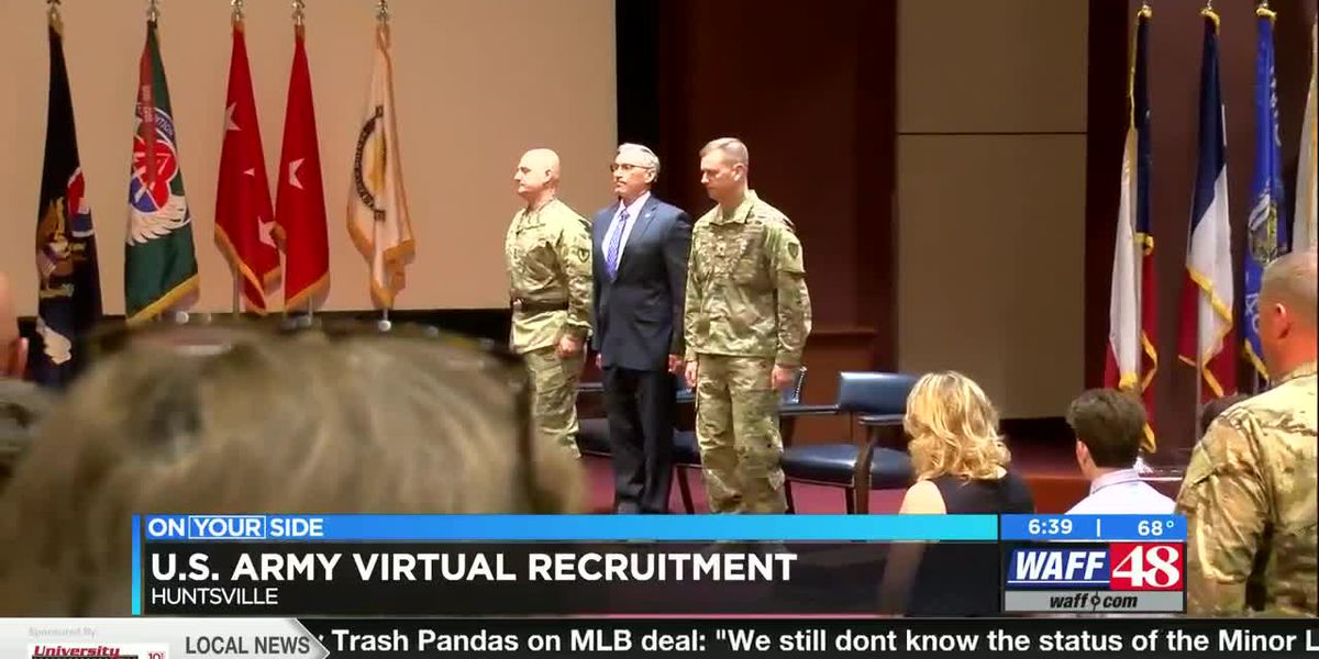 U.S. Army's first virtual hiring campaign underway