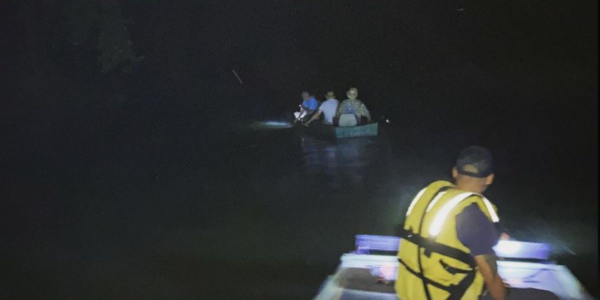Crews rescue 3 missing people Sunday in Locust Fork River