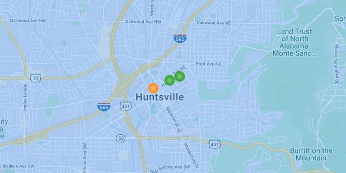 Power restored following outage in downtown Huntsville