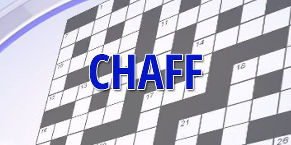 Chaff: Reflections on a multi-definition word