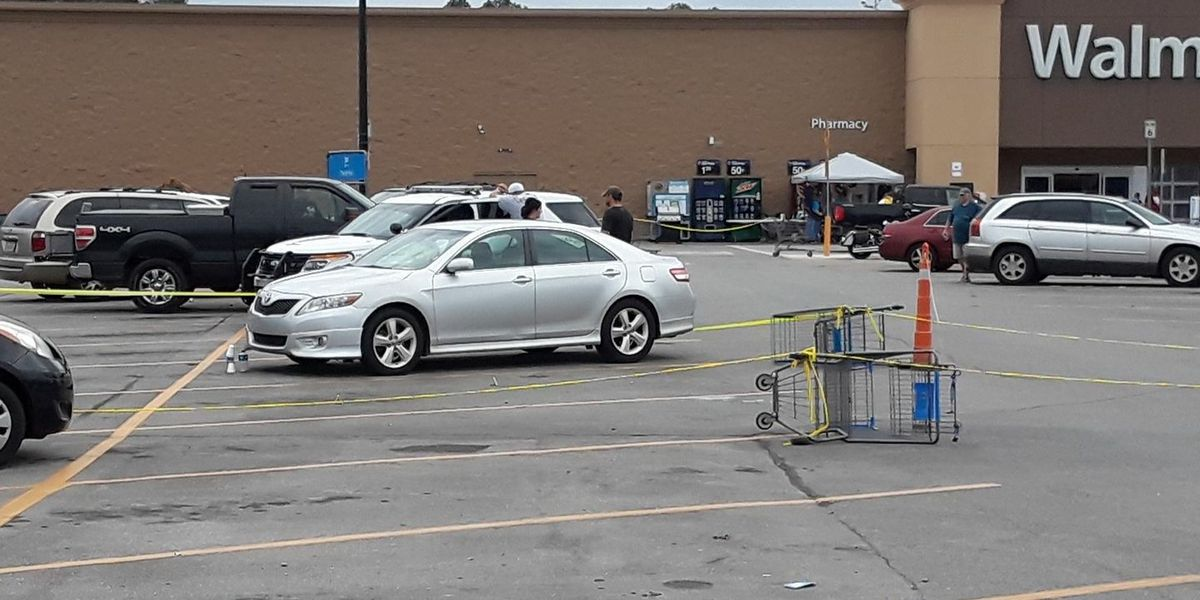shots fired outside marion county walmart