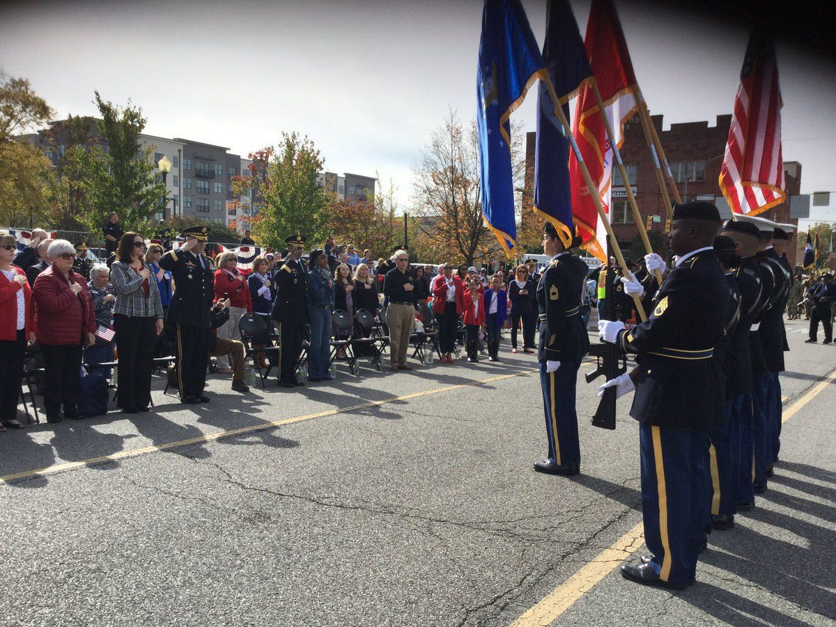 Huntsville Veterans Day Parade canceled due to inclement weather