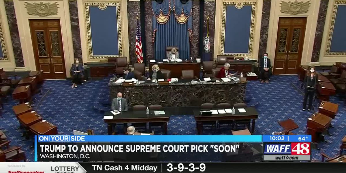 New Supreme Court picks, Murder for hire update & more on WAFF's Nightly News