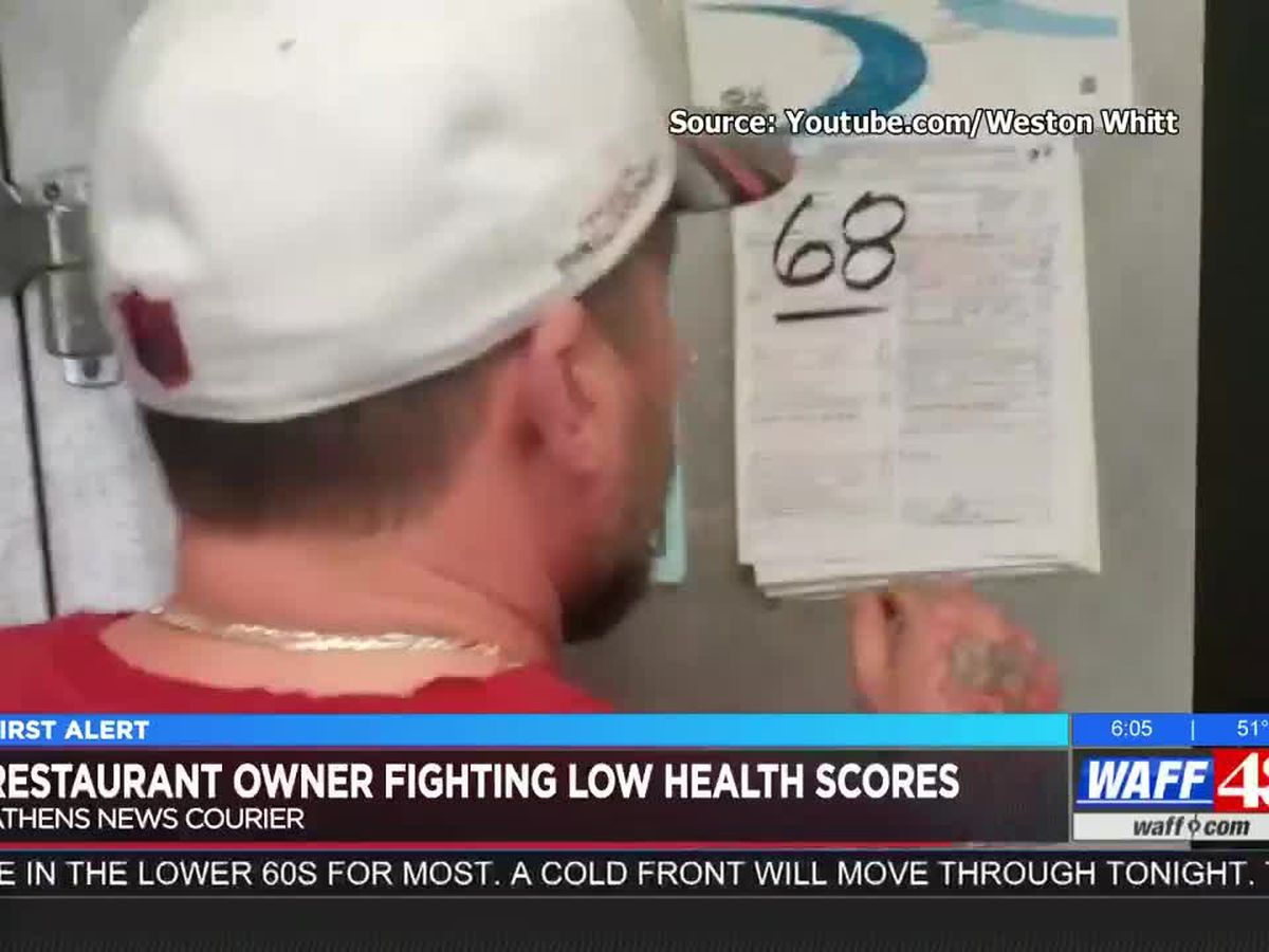 Restaurant owner fighting low scores from health department