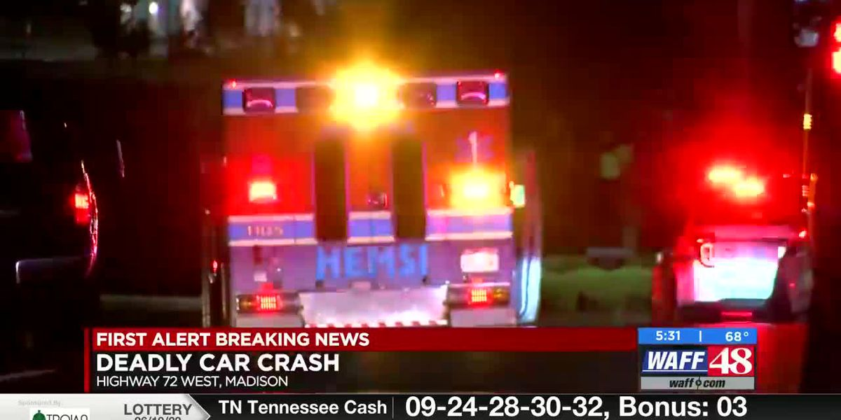 Car crash kills one, injures another early Saturday morning in Madison County