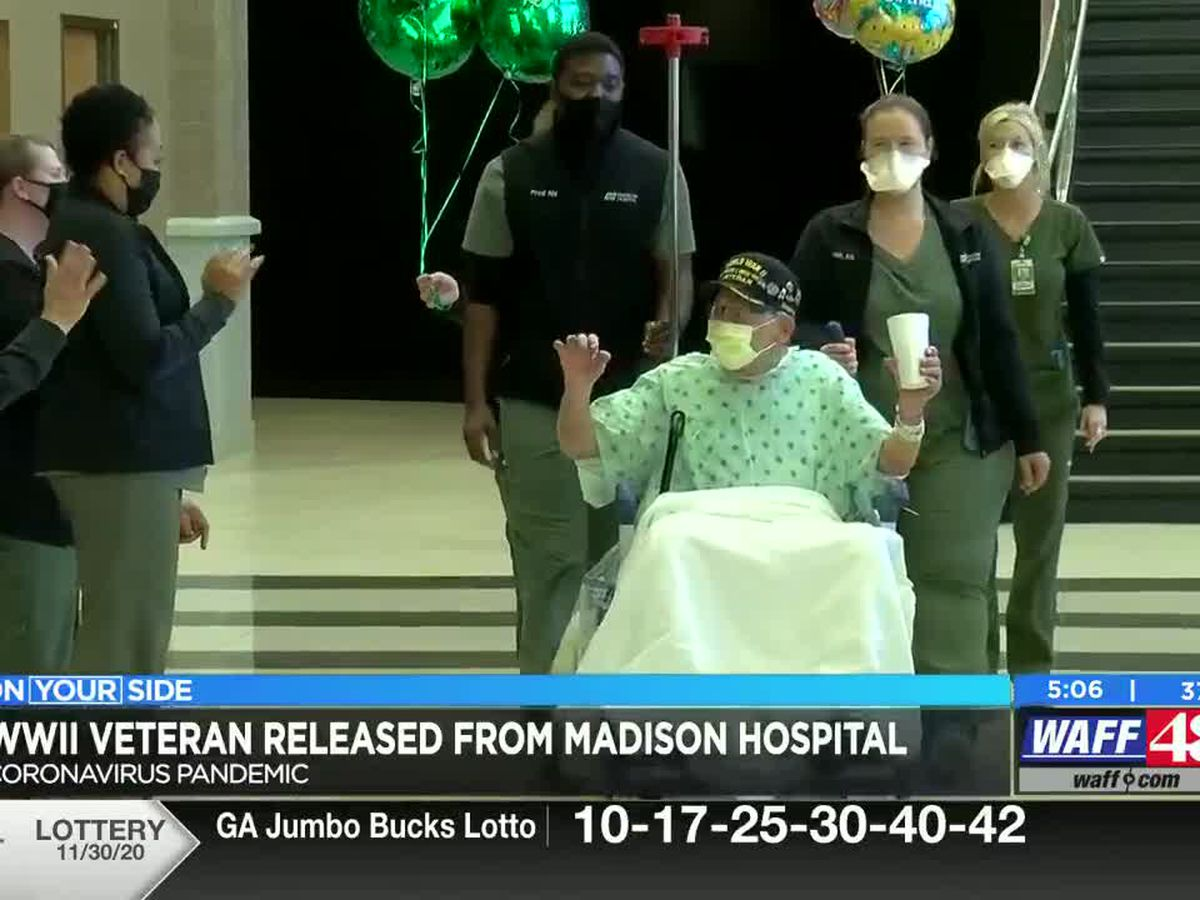 Local WWII Veteran released from hospital after battling COVID-19