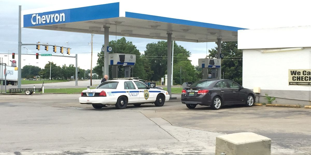 Huntsville police searching for gas station robbery suspect