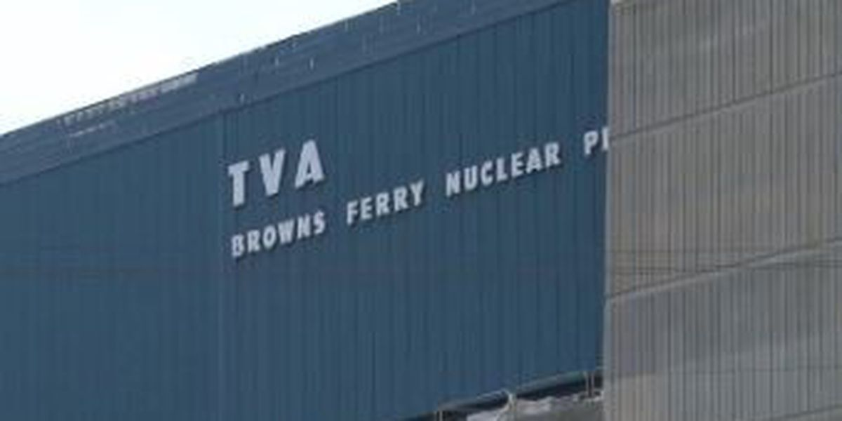 TVA cited for violations at Browns Ferry Nuclear Power Plant