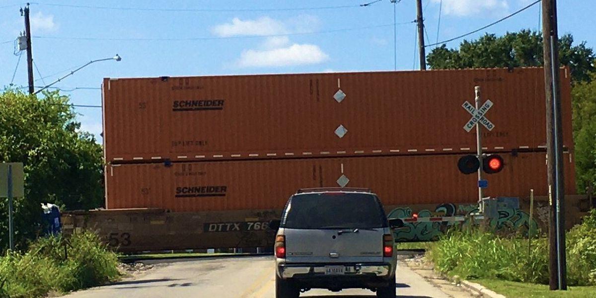Pedestrian killed by train in Decatur