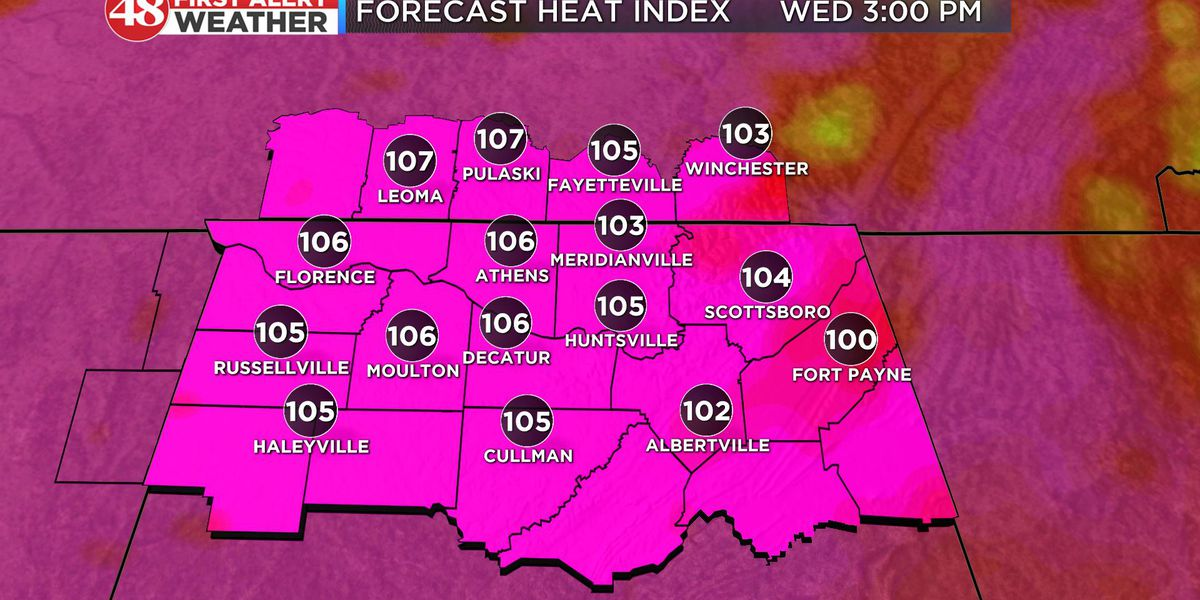 First Alert for excessive heat this week