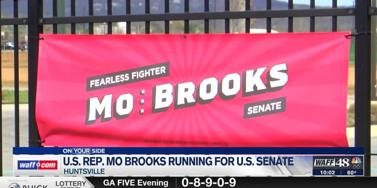 Congressman Mo Brooks announces his run for Senate; Protestors rally against it
