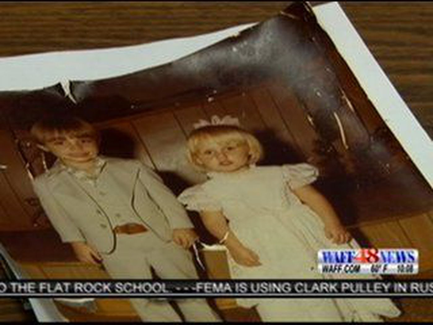 Facebook page collects pictures lost in storms