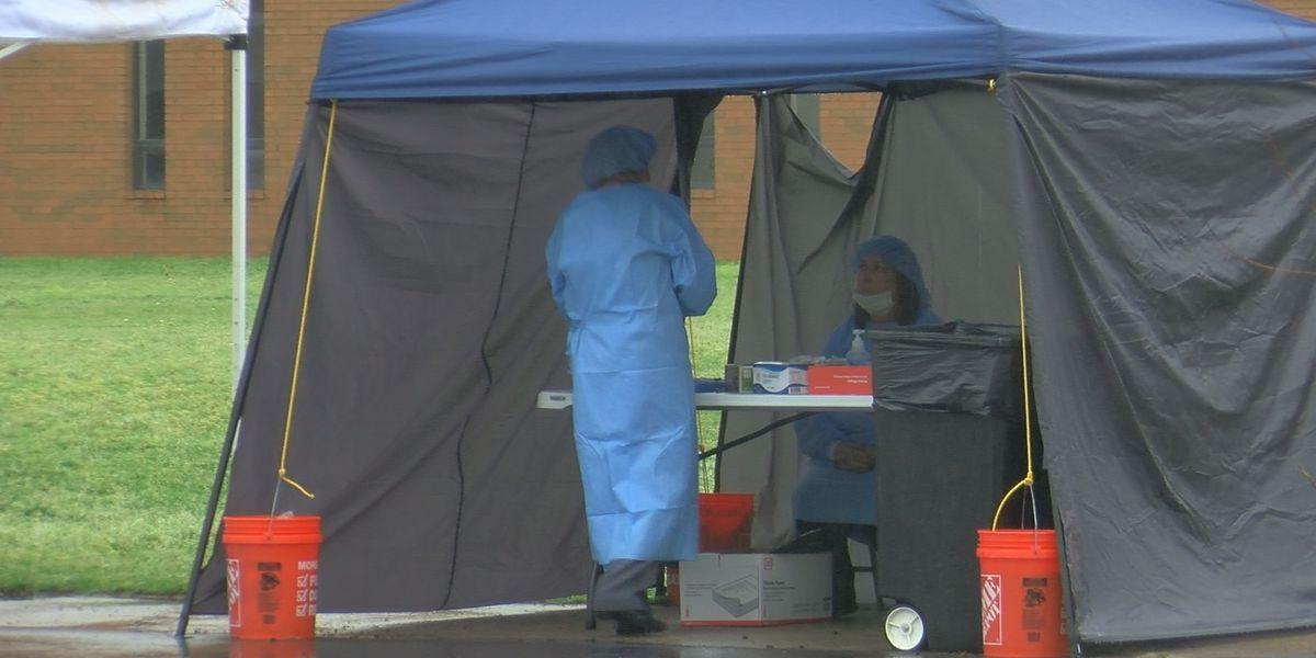 Jackson County hosts drive-thru flu, COVID-19 screening, collection site