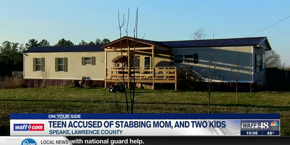 13-year-old charged with assault, arson after stabbing a woman, two children