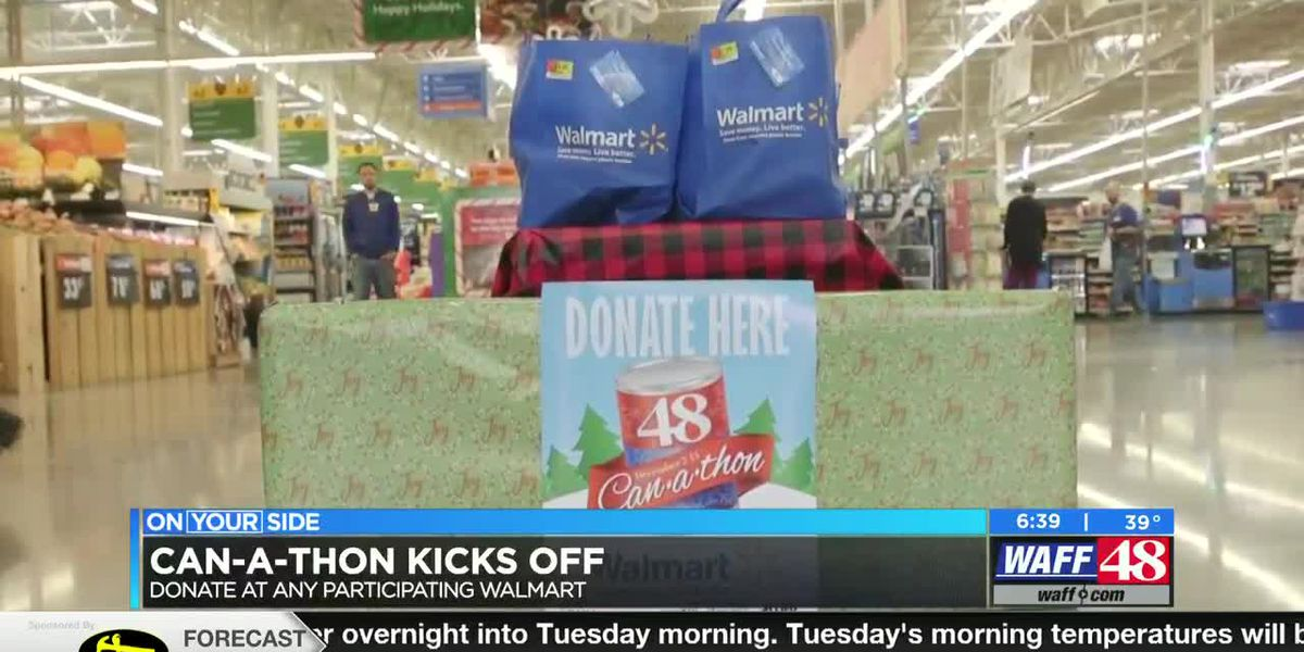 WAFF 48 Can-a-thon starts today!