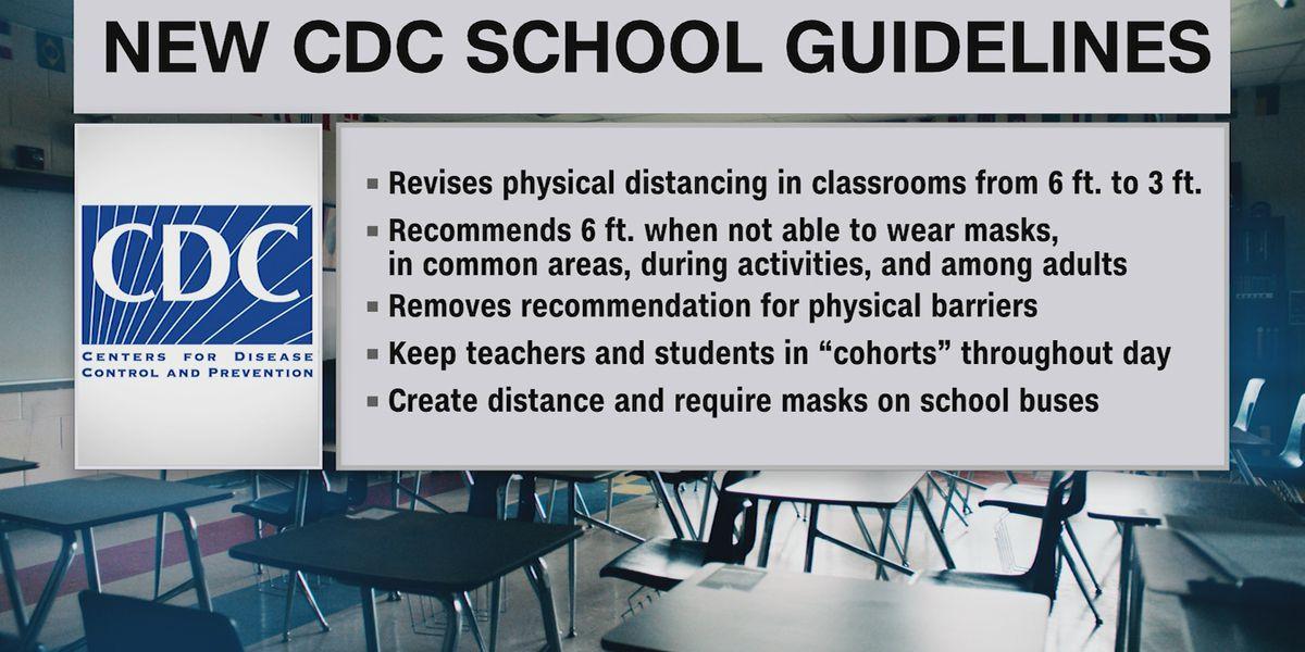 DeKalb County School superintendent, parent respond to new CDC guidelines in schools