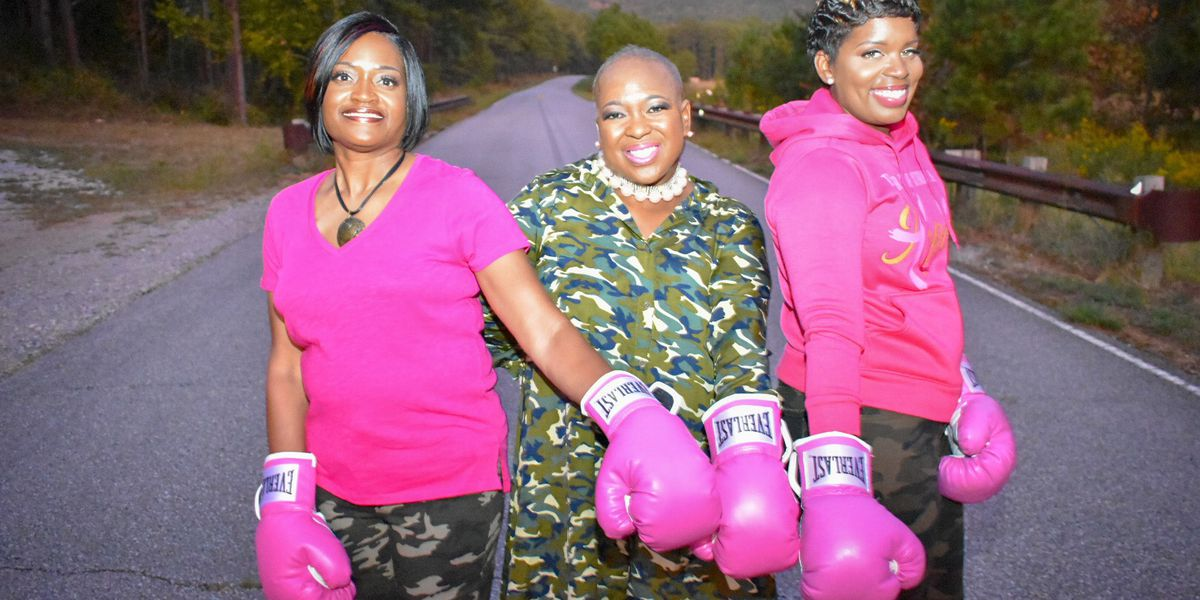 "AL women spread breast cancer awareness with ""boxing out cancer"" photo shoot"