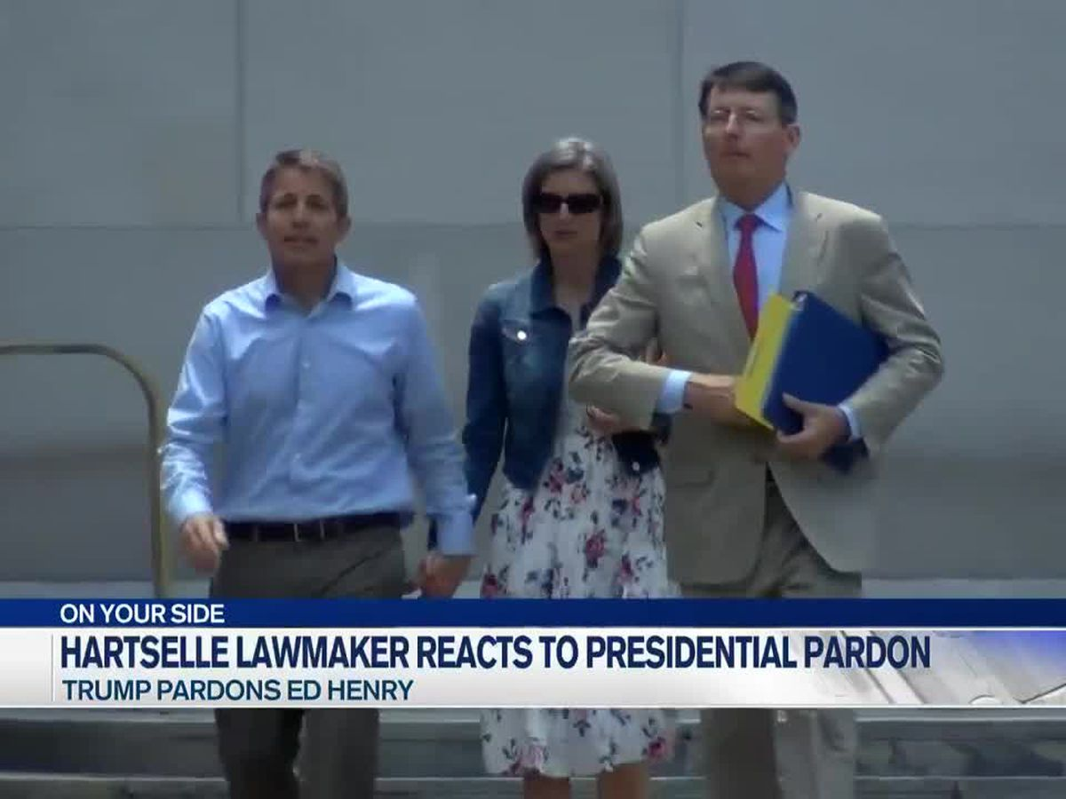 Hartselle lawmaker reacts to presidential pardon