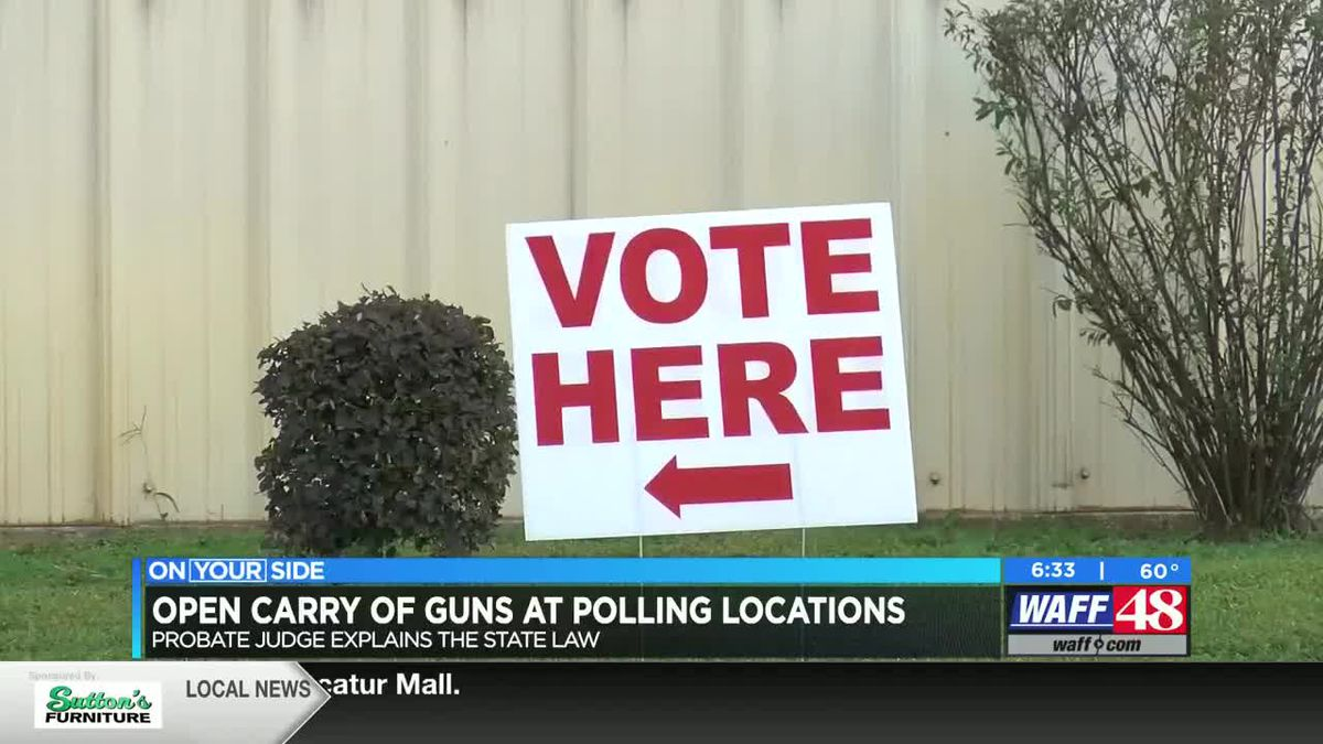 Open carry of guns at polling locations: What voters need to know