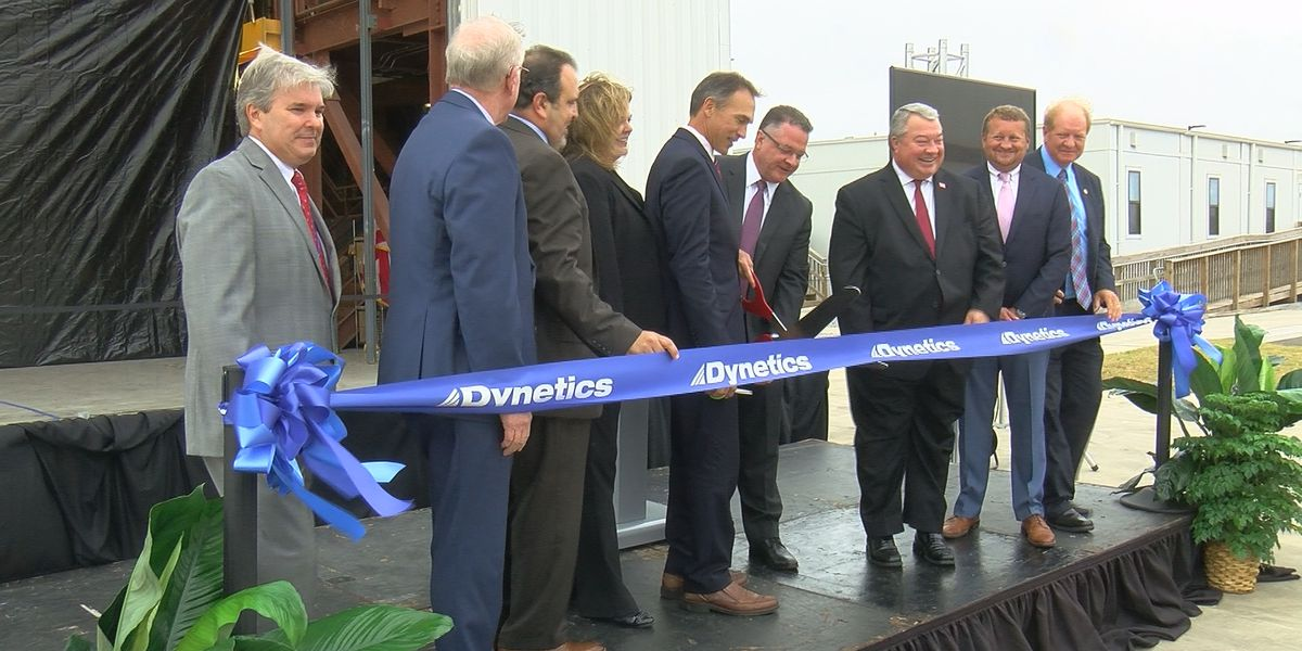Dynetics aerospace facility opens in Decatur