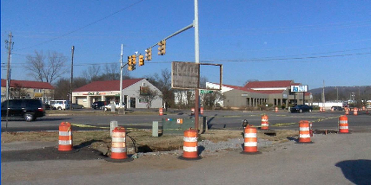 Huntsville's Church Street construction project takes step forward; new lanes open up