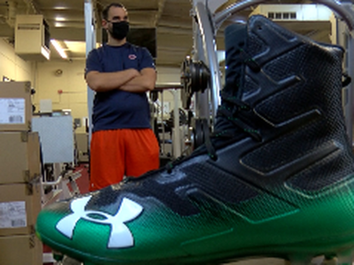 Boys and Girls Club provide football cleats, gloves for area High Schools