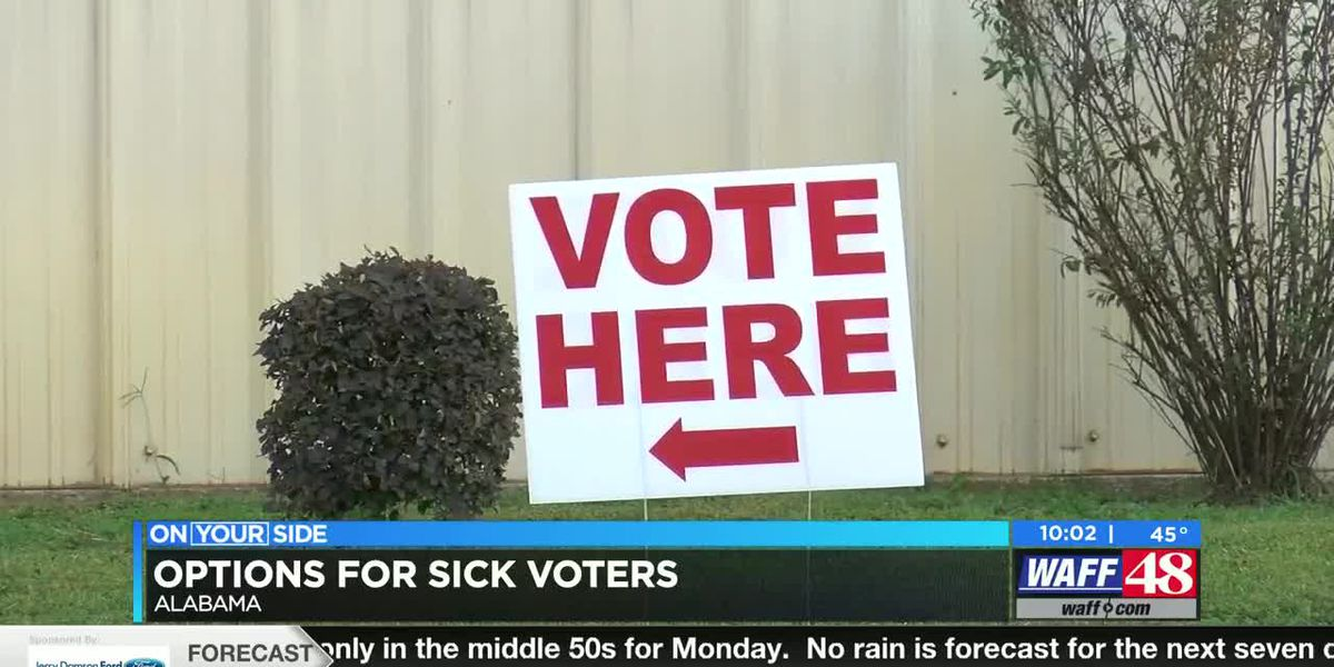 What happens if you get sick on election day?