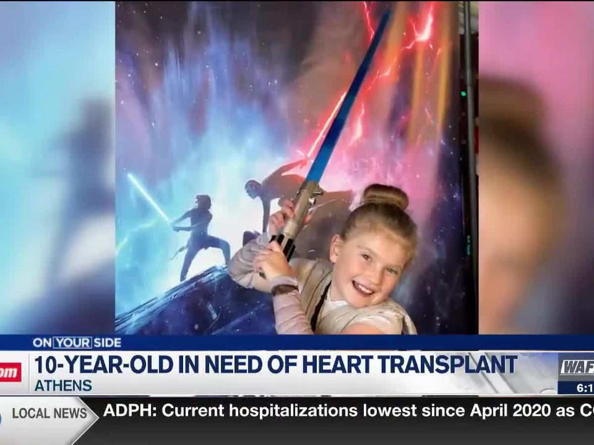 10-year-old Athens girl recovering after live saving heart transplant surgery in Nashville