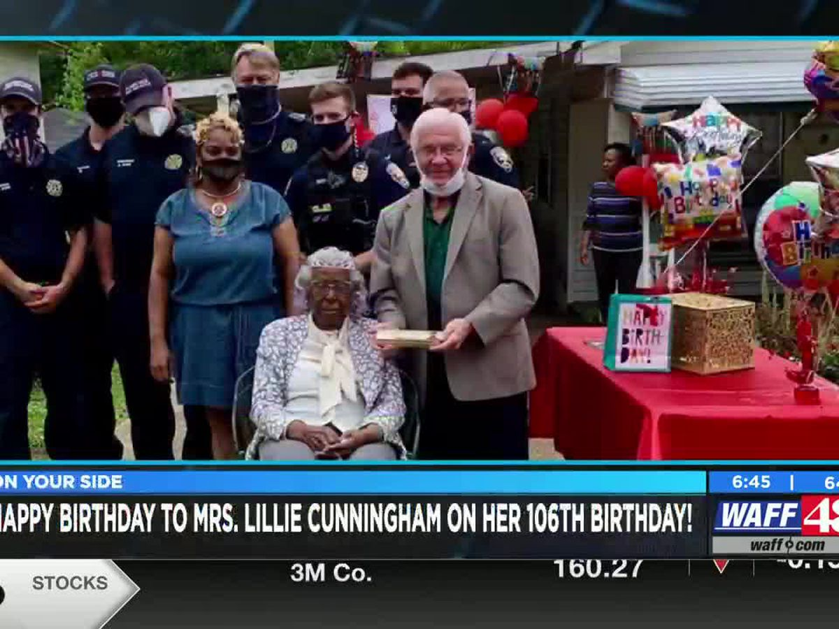 Florence woman celebrating her 106th birthday!