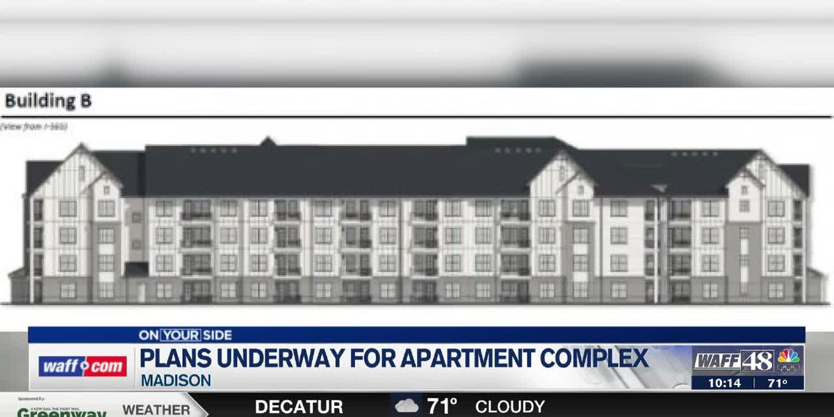 Luxury apartment complex in the works at Town Madison