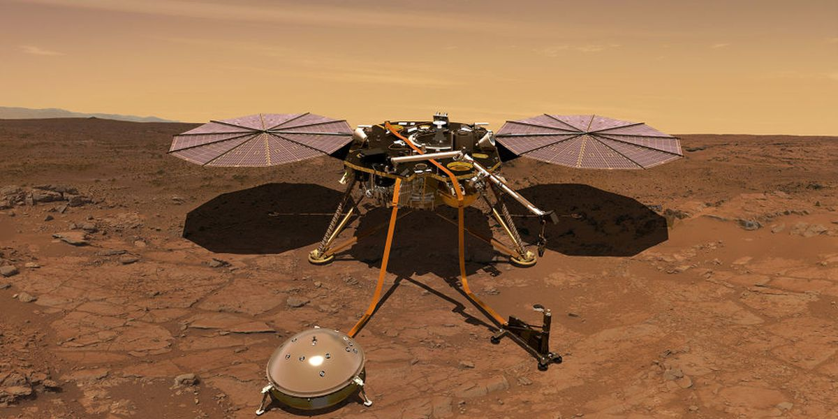 NASA lands on Mars for the first time in 6 years