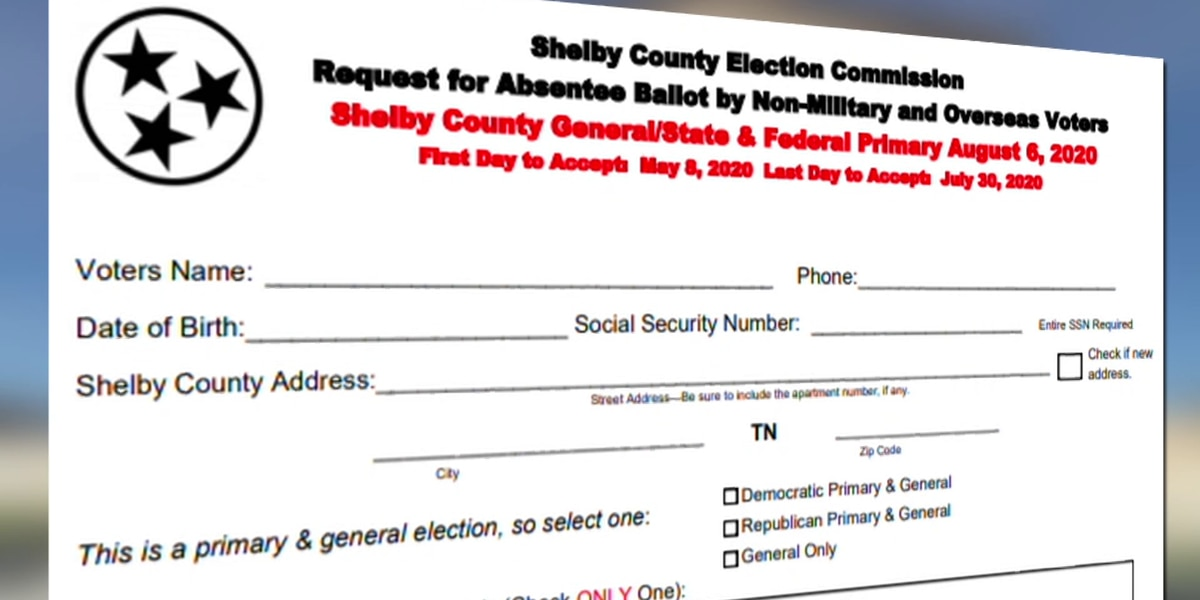 Tennessee absentee ballot controversy reaches political, legal 'stalemate'