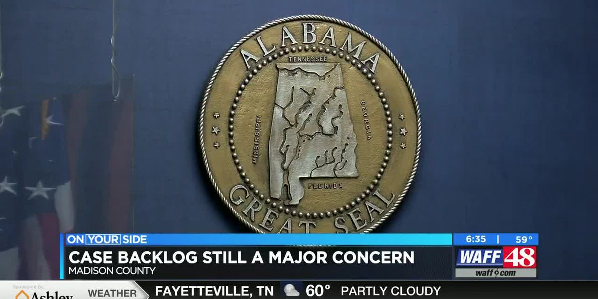 Case backlog still a major concern in several Alabama counties