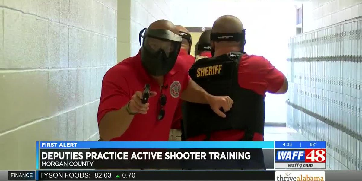 Morgan County deputies and SROs prepare for active shooter scenarios