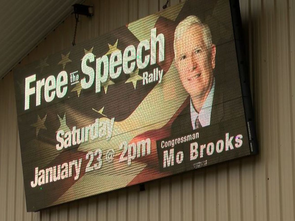 Fredricks Outdoor gearing up for Free Speech Rally with Mo Brooks