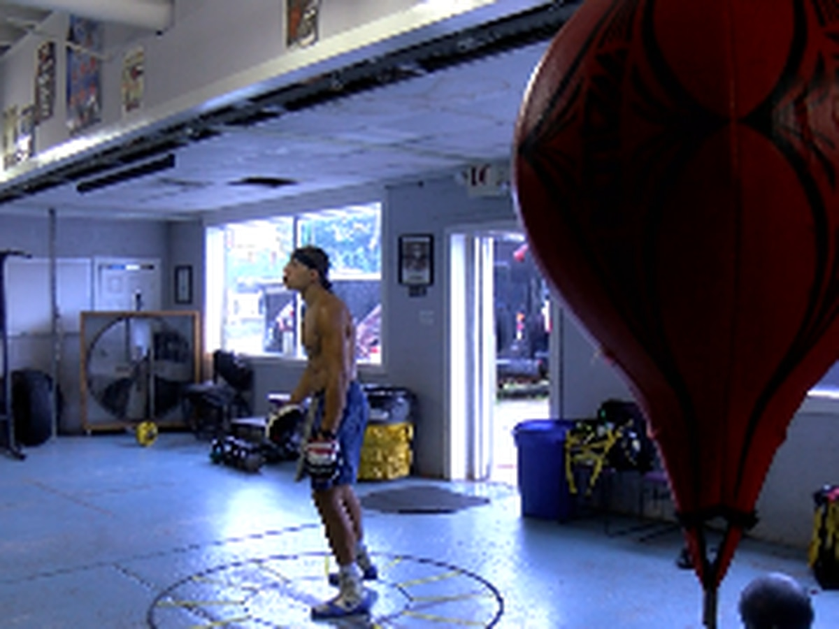 Area boxing gym offers hope