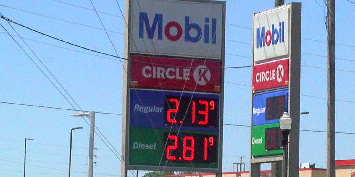 Gas tax increase begins Labor Day weekend