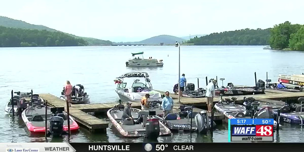 Bassmaster Elite Series Tournament begins on Lake Guntersville
