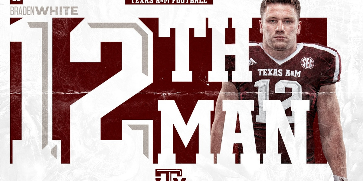 Florence native named Aggies 12th man