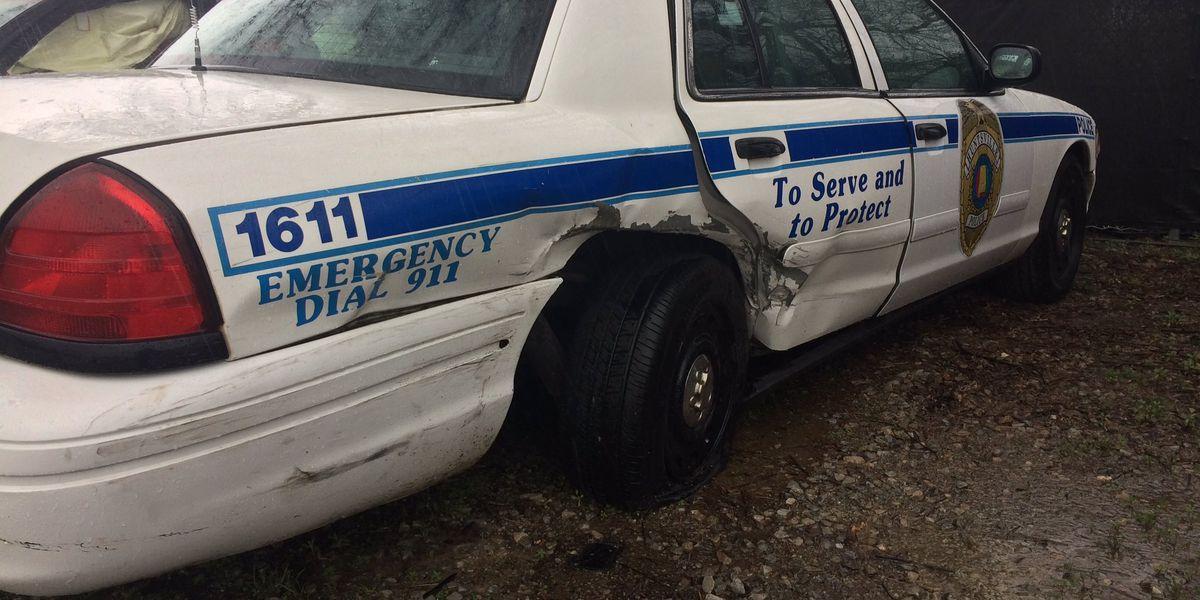 Huntsville police officer injured in wreck on I-565